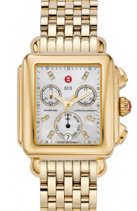 michele deco watch, fall 2012, fall 2012 gold watch, gold watch trends